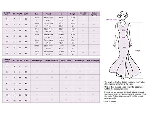 Ever Pretty - Robe - Trapèze - Sans Manche - Femme Violet Violett - Violett