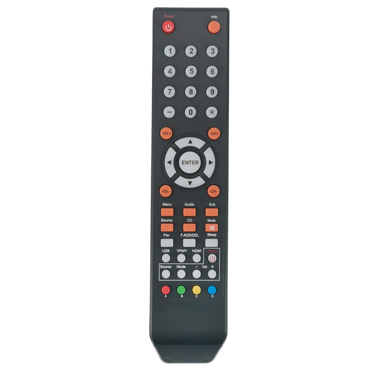 Control Remoto Sceptre TV E195BD SR E246BD SMQK U435CV UM...