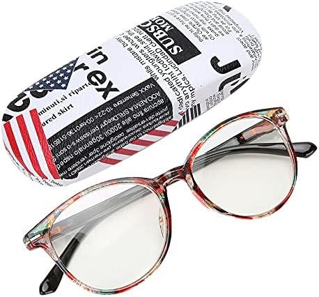 Modieuze Leesbril Brillen voor Ouderen Brillen met Opbergdoos250