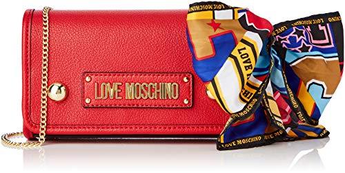 Love Moschino Grain Pu, Sac à bandoulière femme, 15x10x15 cm (largeur x hauteur)