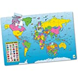 The Learning Journey Jumbo Floor Puzzles, Map of the World