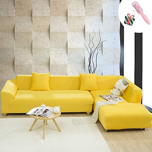 Funda Sofá de 3 plazas Universal Estiramiento, Morbuy Color ...