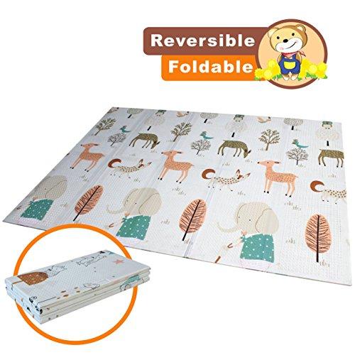 Baby play mat folding baby Care XPE playmat Foam Floor Slip Extra...