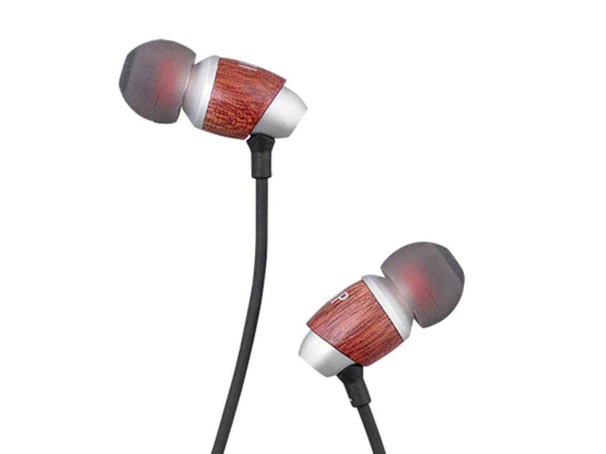 Monoprice MP80 Aluminum In-Ear Earphone Balanced Armature Driver and Dynamic Driver with Three Tuning Nozzles 127276