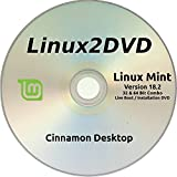 "Linux Mint 18.2 "" Sonya "" LATEST RELEASE - Cinnamon Version - Install / Live DVD ( 32/64 bit )"