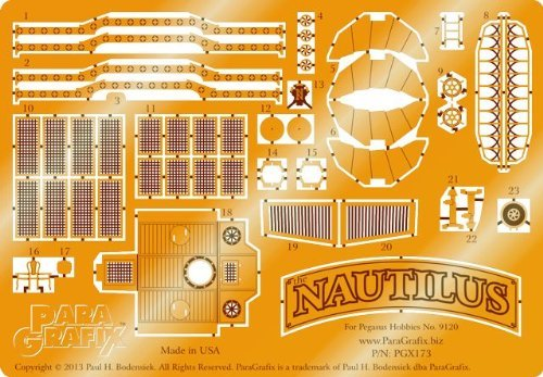 VCSHobbies Paragrafix - Nautilus Photoetch Set - PGX173