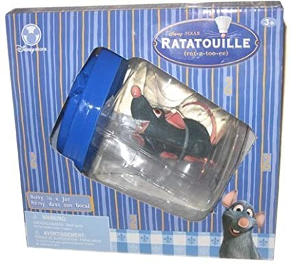 MDstore Remy in a Jar Battery Operated Rat From Disneys Ratatouille
