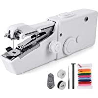 Yueetc Handheld Sewing Machine,Mini Portable Handheld Electric Sewing Machine,Quick Stitch for Home,Travel or Working