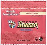 Honey Stinger Organic Energy Chews, Grapefruit, 1.8 Ounce (Pack of 12)