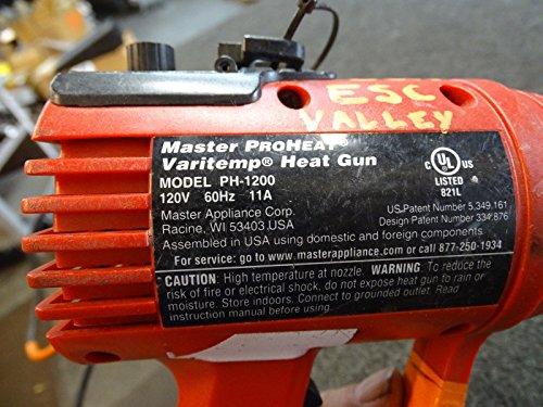 Master Appliance PH-1200-1 Proheat Varitemp Heat Gun from Master