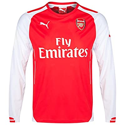 Arsenal Home 2014/15 Long Sleeve Jersey (Official Puma)