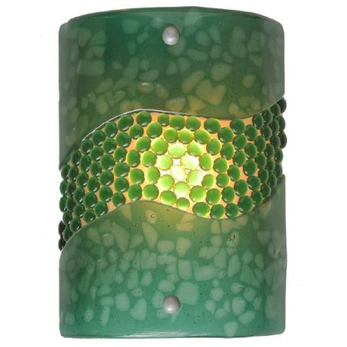 Fused Glass Sconce - 2
