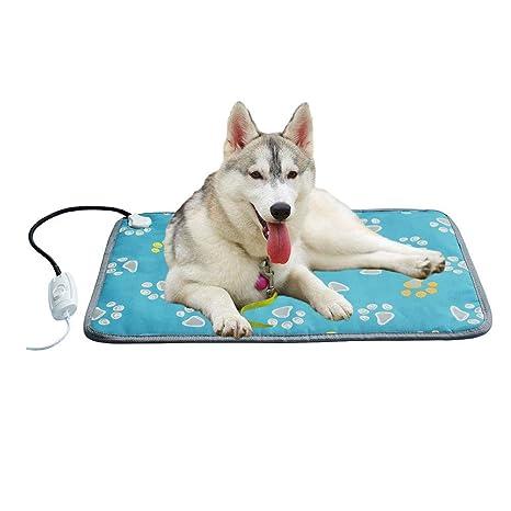 L Almohadilla eléctrica para calefacción de Mascotas, Cama para Gatos, Resistente al