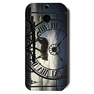 Newest Design Cartier Series 3D Hard Plastic Case Cover Snap on Htc One M8