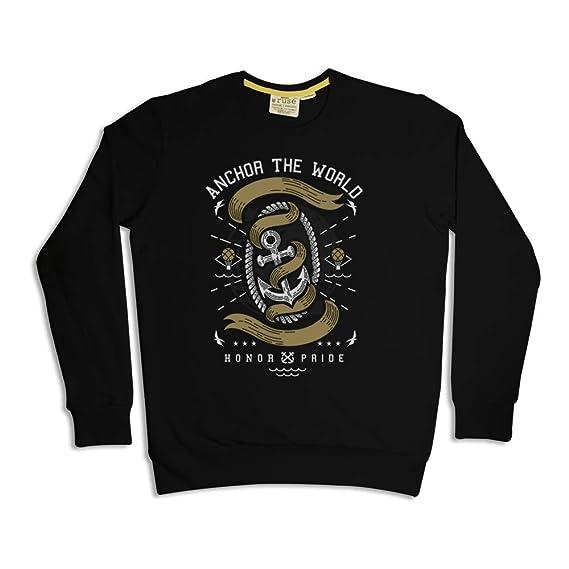 8a363263f Ruse. Anchor The World Printed Men   Boy Sweat Shirt Winter ...