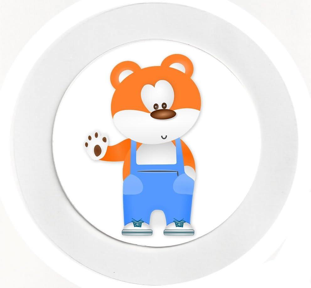 Cartoon//Fun Reuseable Car Tax Disc Holder Cute Bear