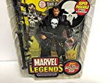 Punisher MARVEL LEGENDS 2004 action figure series VI with comic book