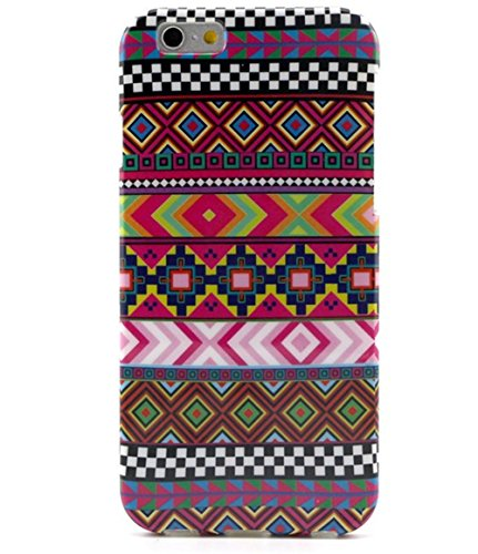 """Vintage Retro Colorful Patern TPU Rubber Soft Back Case Cover Skin for Apple Iphone6 4.7"""" (5-Ethnic style sub-pattern)"""
