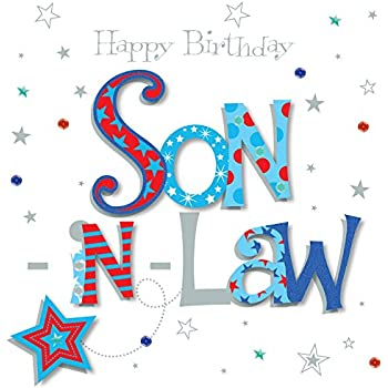 Amazon Talking Pictures Son In Law Happy Birthday Greeting