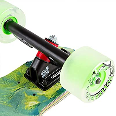Sector 9 Longboard Complete Valley Fault Line : Sports & Outdoors