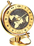world clock watch - Seiko Desk and Table World Time Clock Solid Brass Case