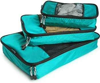 TravelWise Packing Cube System Durable 3 Pc. Weekender Set