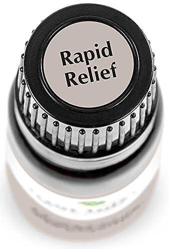 Plant Therapy Rapid Relief (formerly Pain Aid) Synergy Pre Diluted Roll On. Ready to use! 100% Pure, Therapeutic Grade Essential Oils Diluted in Fractionated Coconut Oil. 10 ml (1/3 oz).