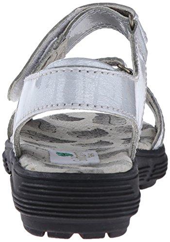 Golfstream Women's Two Strap Sandal Golf Shoe, Tuscany Faux Crocodile/Silver, 5 M US by Golfstream (Image #2)