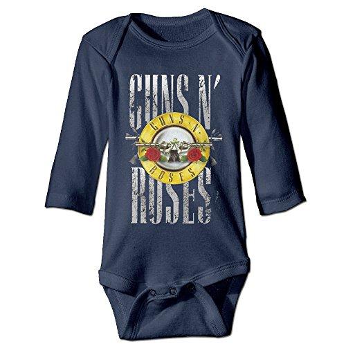 Cool Guns N' Roses NOT IN THIS LIFETIME Baby Onesies Newborn ()
