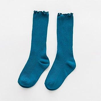 Calcetines calcetines INFANTILES ZYTAN Candy Color Negro hongo en Reactor de tubo sólido All-Match Calcetines,verde negruzca,Acerca de 7-10 años 6 pares: ...