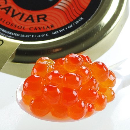 Alaskan Salmon Roe Caviar Malossol Wild Caught - 5.5 Oz by Marky's Caviar