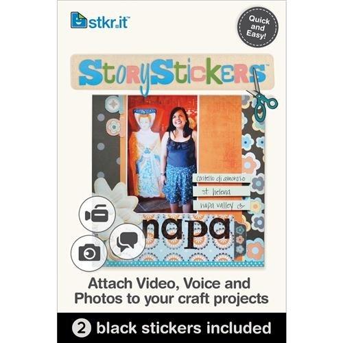 StoryStickers, 2 pezzi, colore: Nero