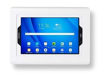 "349ce15283e Tabdoq support mural compatible avec Galaxy Tab S2 S3 9.7"" avec accès au  bouton"