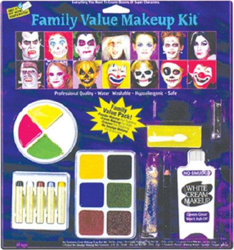 [Fun World Horror Family Makeup Kit] (Horror Makeup Value Kit)