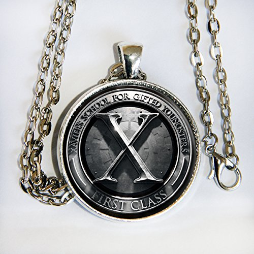 X Men First Class - pendant necklace - HM (X Men Mystique Halloween Costume)