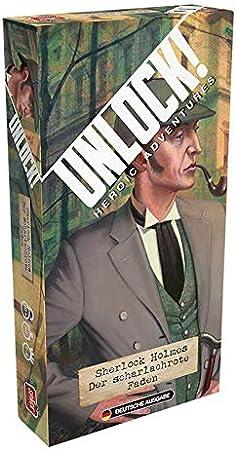 Unlock! - Sherlock Holmes: el Hilo Rojo Escarlata.: Amazon.es: Juguetes y juegos