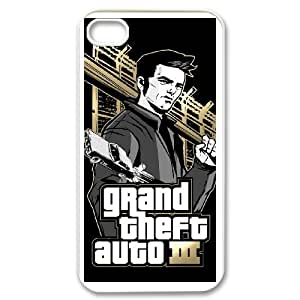 iPhone 4,4S Phone Case Grand Theft Auto B8T91934