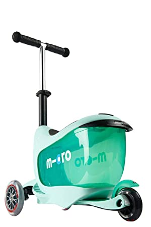 Patinete Mini2go Deluxe Plus Menta: Amazon.es: Deportes y ...