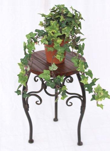 Blumenständer 34cm Rund HX12592 Blumenhocker Blumensäule Tisch Beistelltisch