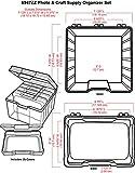 ArtBin Photo & Craft Organizer Set Large Box with