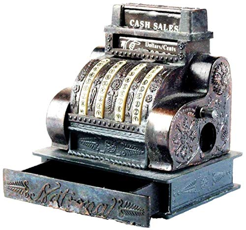 Photo Metal Rare Die Cast Sharpener Cash Register Pencil Sharpener Collectible Replica Miniature National Cash Register Vintage Finished