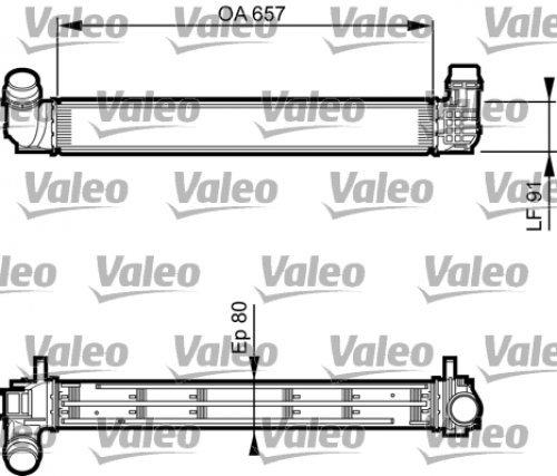 Valeo 818269 Intercooler, é changeur échangeur