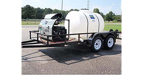 Amazon com: Magnum 3000 Psi Trailer Unit with 500 gallon