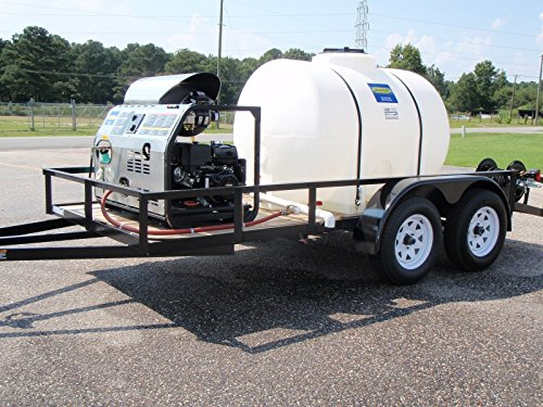 Magnum 3000 Psi Trailer Unit with 500 gallon water tank ()
