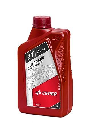 CEPSA 515364188 Lubricante Sintético para Embarcaciones con Motores de Gasolina Fueraborda de 2T.: Amazon.es: Coche y moto