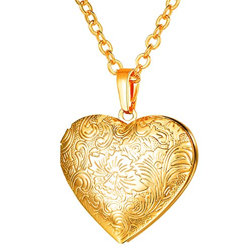 U7 Locket Necklace with