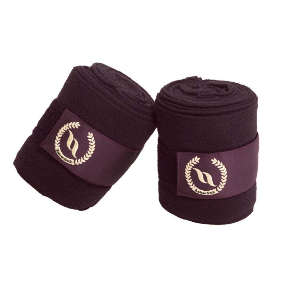 Back on Track Night Collection - Fleece Polo Wraps (Ruby) by Back on Track