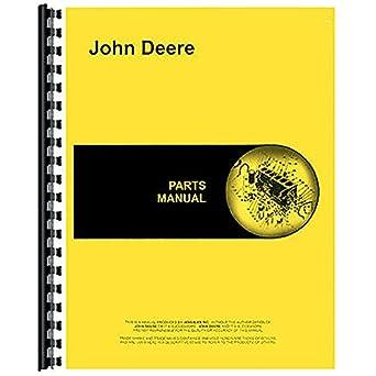 amazon com new john deere 165 backhoe parts manual attachment rh amazon com John Deere 160 Deck Bolts John Deere 165 Hydro Carburetor