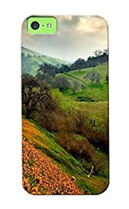 03042522136 Snap On Case Cover Skin For Iphone 5/5s(the Valley Of Flowers)/ Appearance Nice Gift For Christmas