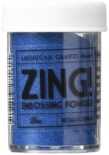Zing! Metallic Embossing Powder 1-Ounce, Blue